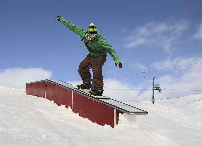 スノーボード【パークにある代表的な物】