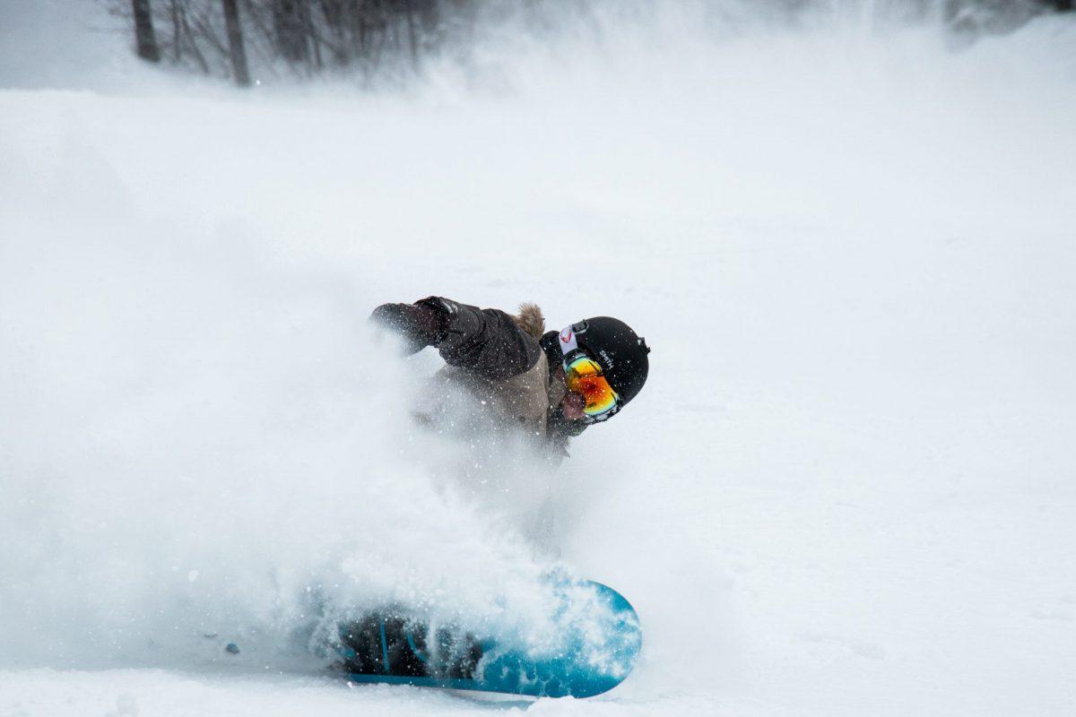 スノーボードのツインチップでパウダーを楽しむには??