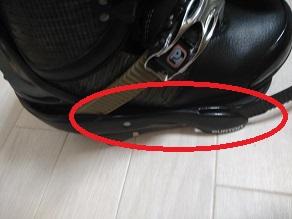 「ブーツ」と「ビンディングの横幅」がフィットしているかの図