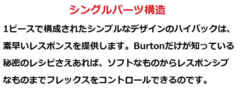 バートン・カーテル(Burton・Cartel)|スペック評価3