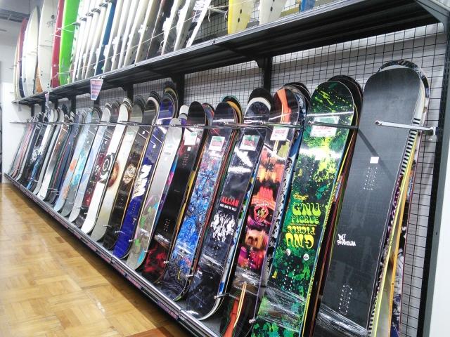 スノーボード 主要のおすすめ国産板のブランド