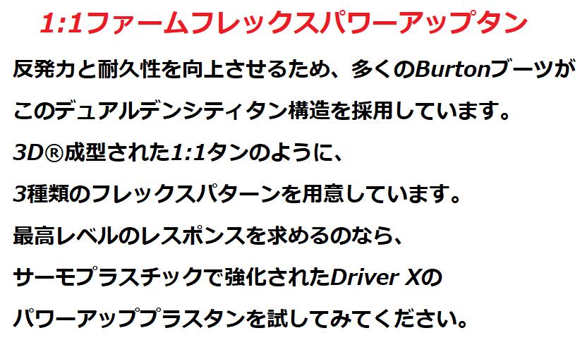 バートン(Burton)ブーツ・SLXのスペック評6